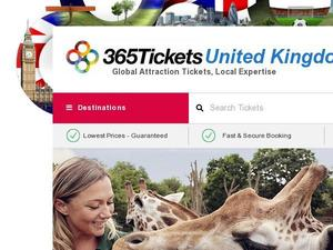 365tickets.co.uk voucher and cashback in January 2021