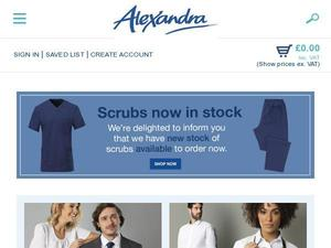 Alexandra.co.uk voucher and cashback in January 2021