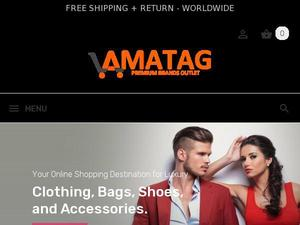 Amatag.com voucher and cashback in January 2021