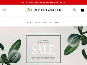 Aphrodite1994.com voucher and cashback in January 2021