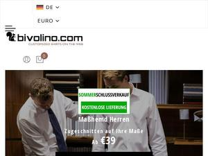 Bivolino.com voucher and cashback in January 2021