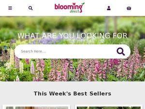 Bloomingdirect.com voucher and cashback in January 2021