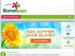 Blumenpapa.at Gutscheine & Cashback im April 2021