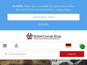 Britishcornershop.co.uk voucher and cashback in May 2021