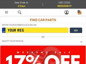 Carparts4less.co.uk voucher and cashback in January 2021