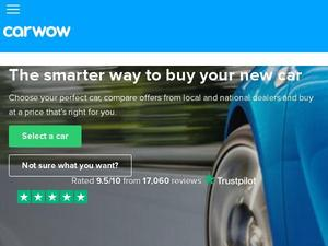 Carwow.co.uk voucher and cashback in April 2021