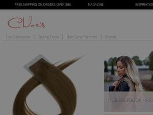 Chloeshair.co.uk voucher and cashback in January 2021