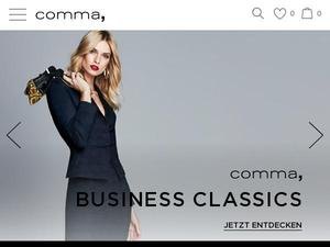 Comma-store.de Gutscheine & Cashback im April 2021