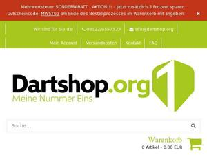 Dartshop.org Gutscheine & Cashback im April 2021
