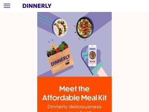 Dinnerly.com voucher and cashback in April 2021