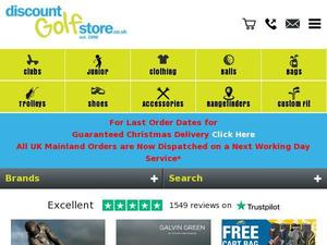 Discountgolfstore.co.uk voucher and cashback in April 2021