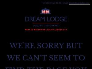 Dreamlodge.com voucher and cashback in January 2021