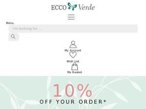 Ecco-verde.co.uk voucher and cashback in January 2021