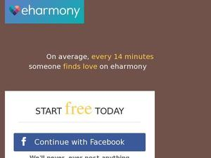 Eharmony.co.uk voucher and cashback in April 2021