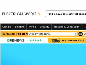 Electricalworld.com voucher and cashback in January 2021