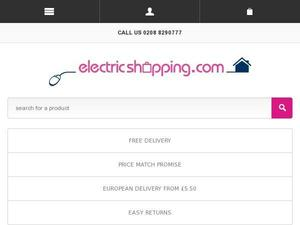Electricshopping.com voucher and cashback in April 2021