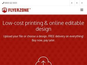 Flyerzone.co.uk voucher and cashback in February 2021