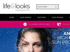 Lifeandlooks.com voucher and cashback in April 2021