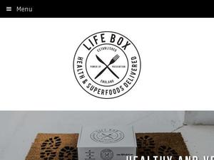 Lifeboxfood.com voucher and cashback in January 2021