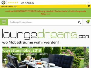 Loungedreams.com Gutscheine & Cashback im April 2021