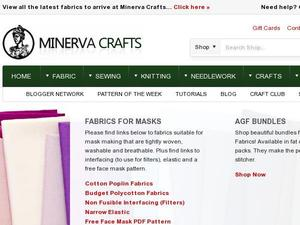 Minervacrafts.com voucher and cashback in January 2021