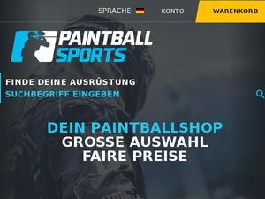 Paintballsports.de Gutscheine & Cashback im April 2021