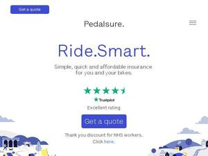 Pedalsure.com voucher and cashback in January 2021