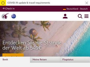Qatarairways.com Gutscheine & Cashback im April 2021