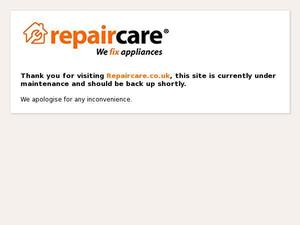 Repaircare.co.uk voucher and cashback in January 2021