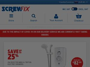 Screwfix.de Gutscheine & Cashback im April 2021