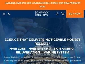 Shop.oxfordbiolabs.com voucher and cashback in April 2021