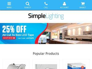 Simplelighting.co.uk voucher and cashback in January 2021