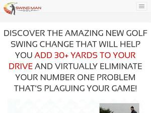 Swingmangolf.com voucher and cashback in January 2021