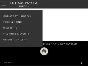 Themontcalm.com voucher and cashback in April 2021