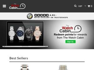 Thewatchcabin.com voucher and cashback in April 2021
