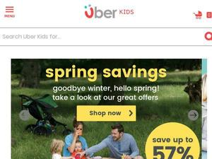 Uberkids.com voucher and cashback in January 2021