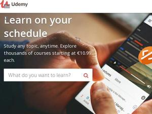 Udemy.com voucher and cashback in January 2021