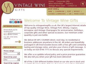 Vintagewinegifts.co.uk voucher and cashback in April 2021