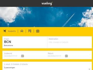 Vueling.com voucher and cashback in January 2021