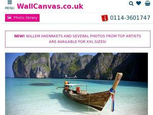 Wallcanvas.co.uk voucher and cashback in January 2021