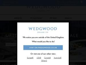 Wedgwood.co.uk voucher and cashback in February 2021