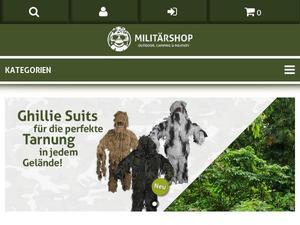 a3af0f0828773e Militaershop.ch - Cashback   Gutscheine jetzt sichern