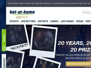 Bet-at-home.com Gutschein & Cashback