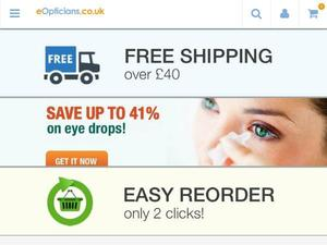 Eopticians.co.uk Voucher & Cashback