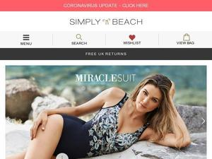Simplybeach.com voucher and cashback in October 2020