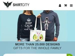 Shirtcity.co.uk Voucher & Cashback