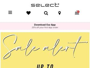Selectfashion.co.uk Voucher & Cashback