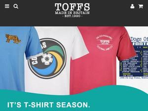 Toffs.com voucher and cashback in October 2020