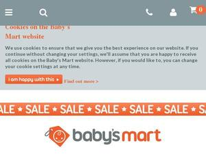 Babys-mart.co.uk voucher and cashback in October 2020