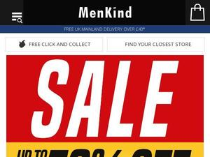Menkind.co.uk Voucher & Cashback